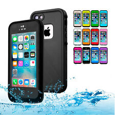 Heavy Duty Waterproof Shockproof Dirtproof Hard Case Cover for Apple iPhone 5S 5
