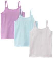 Hanes Toddler Girls TAGLESS Cotton Camisole 3-Pack