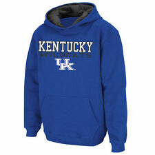 Kentucky Wildcats Stadium Athletic Youth Stack II Hoodie - Royal - College