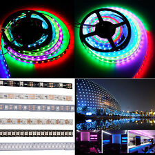 New! WS2812B 5050 RGB LED Strip 1M 5M 144 60 30 Led/M Individual Addressable 5V