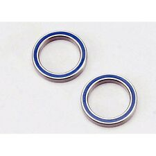 Traxxas TRA5182 Blue Rubber Sealed Ball Bearings (2) 20x27x4mm: 1/10 Summit