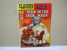 Classics Illustrated The Man in the Iron Mask No.54   T*