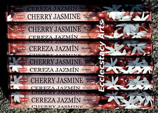 Hem Cherry Jasmine Incense 20-40-60-80-100-120 Sticks You Pick Amount {:-)