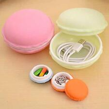 Mini Portable Zip Box Candy Color For Jewelry Box Outing Pocket Storage Boxes S
