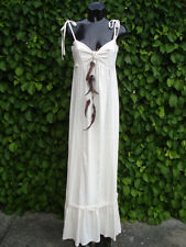SOUTH  Embroidery Maxi Dress Boho 100% Cotton UK Size 14 TALL  NEW TAGS