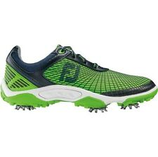 NEW FootJoy Junior Hyperflex Closeout Golf Shoes 45098 Navy/Green Boys Pick Size