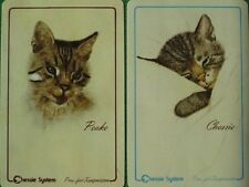 Chessie & Peake Cats Chesapeake & Ohio Railway Swap Cards Chessie System Mint A+