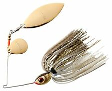 Booyah BYBT14-641 Blade Spinnerbait 1/4oz Gold Shiner Tandem Gold Fishing Lure