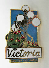 Metal/Enamel Badge VICTORIA British Columbia CANADA Mint