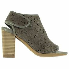 Jeffrey Campbell Womens Quebec Block Heeled Open Toe Summer Casual Shoes