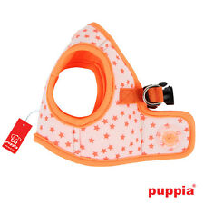 Any Size - PUPPIA - COSMIC - Soft Dog Puppy Harness Vest - Orange