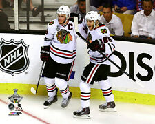 Jonathan Toews & Patrick Kane Chicago Blackhawks 2015 Stanley Cup Photo SF098