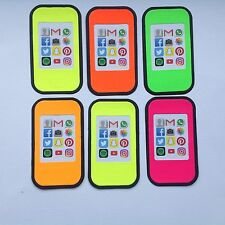 Large Smartphone Die Cut Card Toppers - Sets of 6 in Assorted Styles