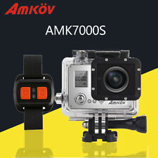 Amkov AMK7000S 1080P Full HD 60fps WiFi Action Camera Waterproof Sports Camcorde