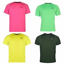 Under Armour Mens Tech T Shirt Sports Training Short Sleeve Crew Neck Tee