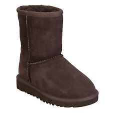 Infant Girls Ugg Australia Classic Sheepskin Boots In Chocolate
