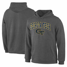 Georgia Tech Yellow Jackets Campus Pullover Hoodie - Charcoal - College