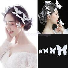 Wedding Animal Handmade Butterfly Hairpin Hair Clips Barrette Pack of 4 Pcs