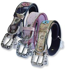 Adjustable Pet Dog Puppy PU Leather Collar Large Personalized Neck Strap Buckle