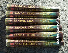 Hem Sandal King Incense 20-40-60-80-100-120 Sticks You Pick Amount {:-)
