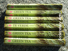 Hem Green Tea Incense 20-40-60-80-100-120 Sticks You Pick Amount {:-)