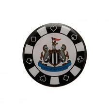 Newcastle United Utd Fc Metal Poker Chip Pin Lapel Badge 25mm Diameter