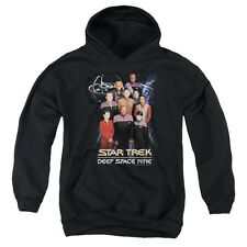 Star Trek/Ds9 Crew Youth Pull-Over Hoodie in Black