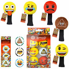 Official Emoji Golf Balls Accessories Fathers Day Presents Golfer Gifts For Him