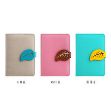 Mini Business Ruled PU Leather Candy Notebook Diary Planner Journal Memo #B9