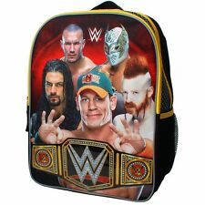 "WWE JOHN CENA REIGNS ORTON 16"" Full-Size Backpack w/Optional Insulated Lunch Box"