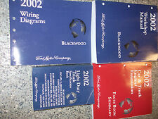2002 LINCOLN BLACKWOOD TRUCK Service Shop Repair Manual OEM SET FACTORY