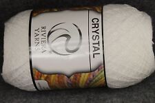 Riviera Hilo Crystal Thread Yarn from Mexico Set 1 Various Colors 100 grams