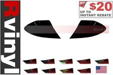 Rtint Tail Light Tint Precut Smoked Film Covers for Mercedesz CLK-Class 06-09