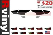 Rtint Tail Light Tint Precut Smoked Film Covers for Ford Focus 2012-2014 (Sedan)