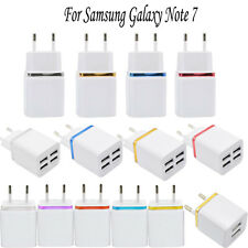 2/4 Port USB Home Travel Wall Charger AC Power Adapter For Samsung EU Plug Lot
