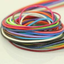 11Yds Waxed Cords / String Jewellery for Shamballa Bracelets Necklace DIY 1.5mm