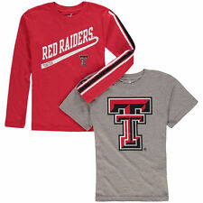 Texas Tech Red Raiders Youth Squad T-Shirt Combo Pack - Red/Gray