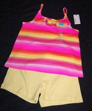 GIRL SIZE 5 6 CHILDRENS PLACE BRIGHT TOP & YELLOW OR DARK PINK GYMBOREE SHORTS