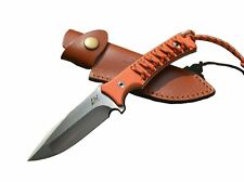 tactical hunting survival military navy rescue army fixed blade D2 Steel knife