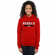 UNLV Rebels Women's Team Strong Pullover Hoodie - Scarlet - College