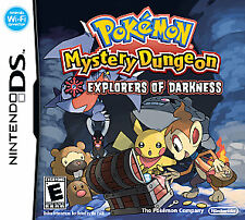 Pokemon Mystery Dungeon Explorers of Darkness Nintendo DS DSI XL game NEW SEALED