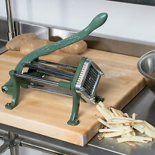 "Choice 1/4"" Green French Fry Cutter / Potato Cutter / Slicer"