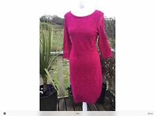 Beautiful NEW ladies m&s stretchy lace Dress Size 12.