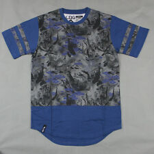 Lifted Research Group - LRG - Research and Destroy Camo T-shirt in French Navy