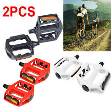Aluminum Alloy Mountain BMX Road Bicycle Bike Flat Platform Bearing Pedals 9/16""