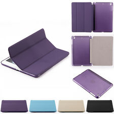 Smart Magnetic Flip PU Leather Stand Case Cover For Apple iPad 2/3/4 Mini Air