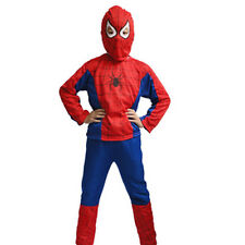 Nice New Kids Spiderman Outfit 3-6 Y/O Cosplay Costume Halloween Christmas Gift