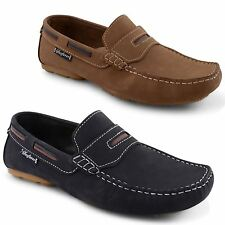 Mens Leather Designer Shoes Italian Loafers Casual Slip On Moccasin Boots 7-11