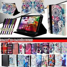 """Folio Folding Leather Stand Cover Case For Various ARNOVA 7"""" 8"""" 9"""" Models Tablet"""