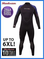 Henderson Mens 5mm Thermoprene Wetsuit Back Zip Full PLUS SIZES BEST SELLER